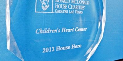 "Ronald McDonald House ~ CHC is ""House Hero"" 2013!"